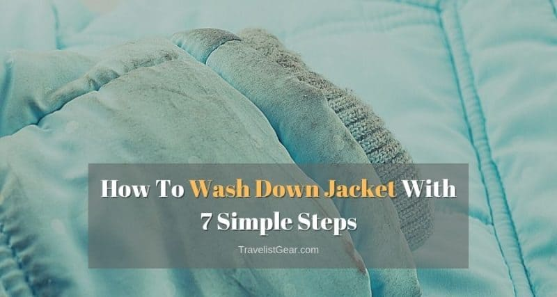 How To Wash Down Jacket