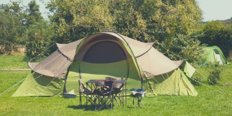 A large tent for family camping