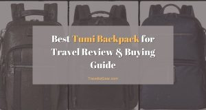 Best Tumi Backpack for Travel