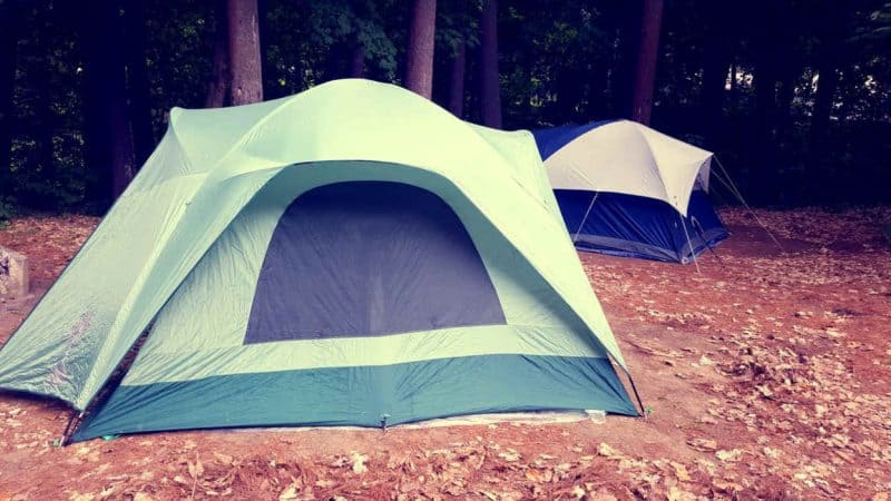 Selecting a tent