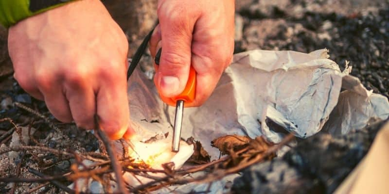 How To Start Fire Easily
