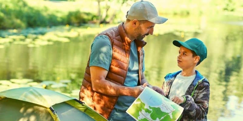 Orienteering With Map